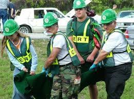 CERT team in training