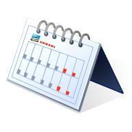 Planning calendar for CERT meetings